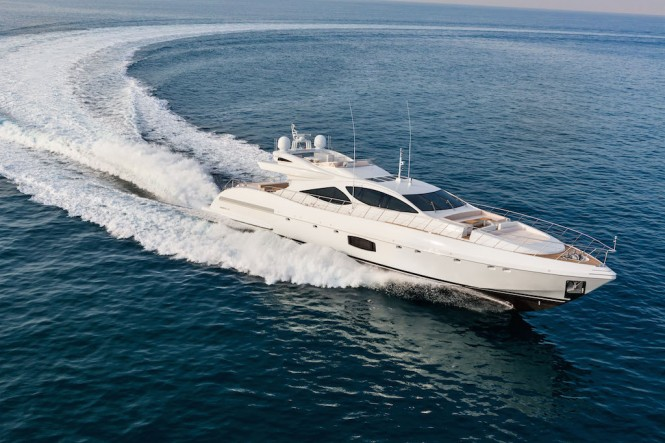 Mangusta 110 superyacht by Overmarine Group