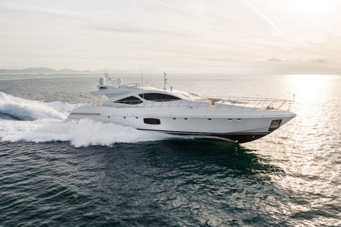 Motor Yacht Mangusta 110 by Overmarine Group