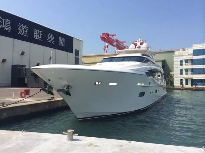 Motor yacht Paradise - Image credit to Mark Western