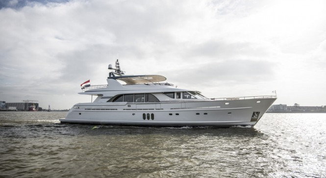 Mulder 98 Flybridge superyacht YN1391