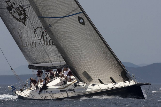 Nauta and Reichel Pugh-designed 84ft superyacht MY SONG - Image courtesy of Loro Piana S.p.A.