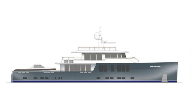 New 144' Explorer Yacht Concept by JFA and Bill Dixon