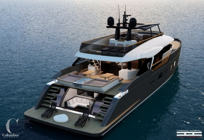 New 32m superyacht Liberty by Columbus Yachts and Marco Casali