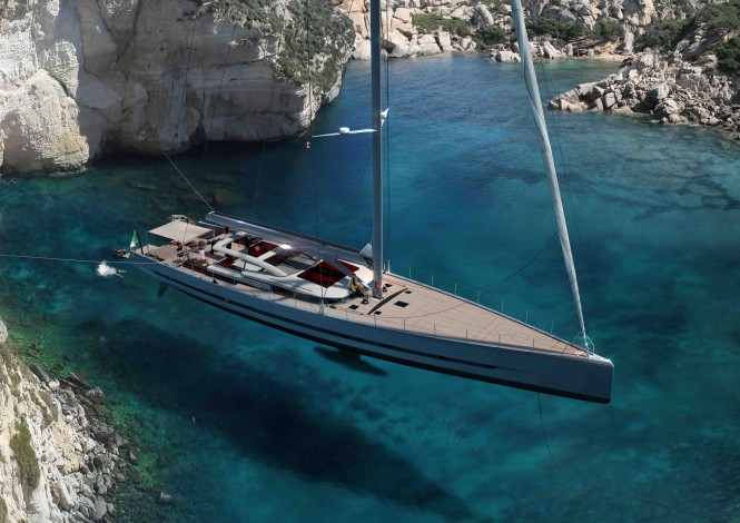 New Admiral Sail Wave 38 superyacht