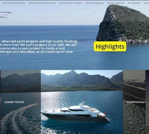 Ned Ship Group releases new homepage