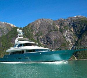 New images of Nordlund 115' Sportfisher motor yacht NETTO