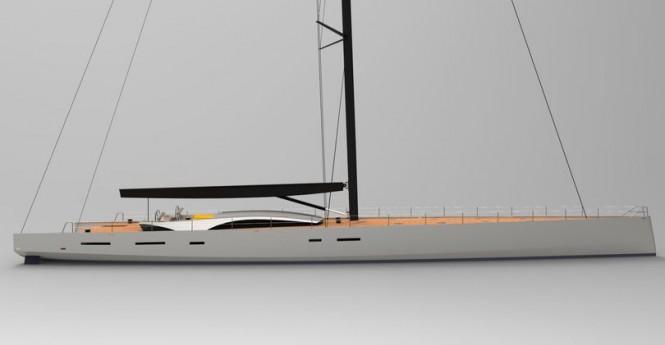 OCD 130 Cruiser Yacht by JFA Yachts and Owen Clarke Design
