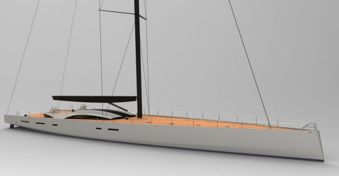 OCD 130 superyacht concept