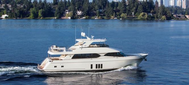 Ocean Alexander 85 Yacht