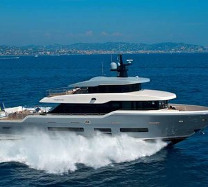 First sea trials for Oceanic Yachts 90 TSA TSA Yacht