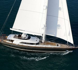 Sailing yacht CLAN VIII wins Ibiza Rendezvous and joins superyacht P2 in the Perini Navi 2014 Hall of Fame