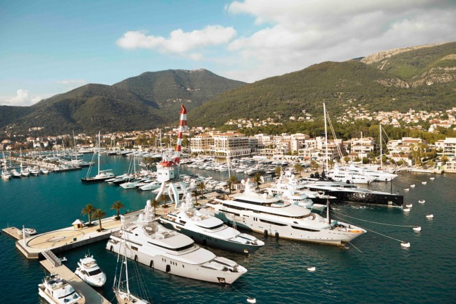 Porto Montenegro - a lovely Montenegro yacht charter destination