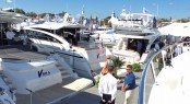 Princess yachts on display at Powerboat Show in Annapolis