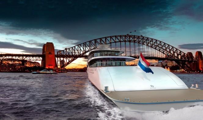 Rendering - Zeelander motor yacht Z164