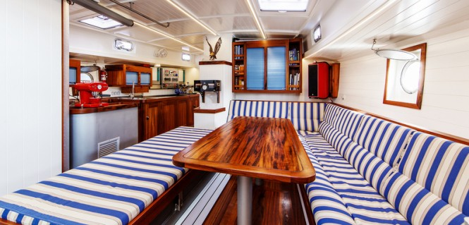 Sailing yacht Anabel - Interior