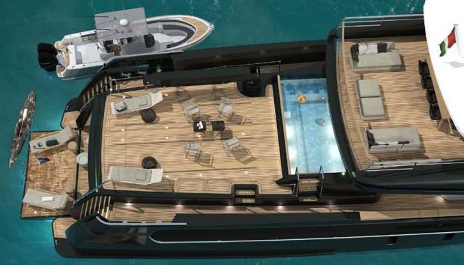 Sanlorenzo explorer yacht 460Exp-115 Exterior