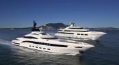 Saramour yacht e Yalla superyacht by CRN