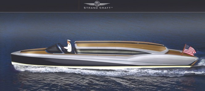 Silverbird Limo superyacht tender by Strand Craft