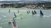 Start of the 2013 Rolex Fastnet Race from Cowes, Isle of Wight - Credit Rolex Kurt Arrigo