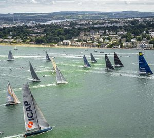 100-foot limit lifted for 2015 Rolex Fastnet and Rolex Middle Sea Races