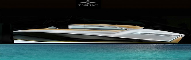 Strand Craft Limo mega yacht tender