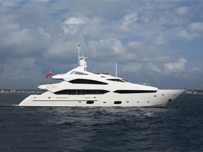 Sunseeker 40 superyacht TANVAS