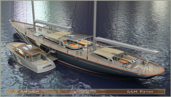 Super yacht Anthem concept