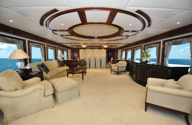 Super yacht Chevy Toy - Saloon after refit