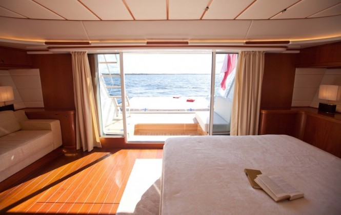 Super yacht Ti-Coyo - Owners Stateroom - Photo by Dijana Nukic