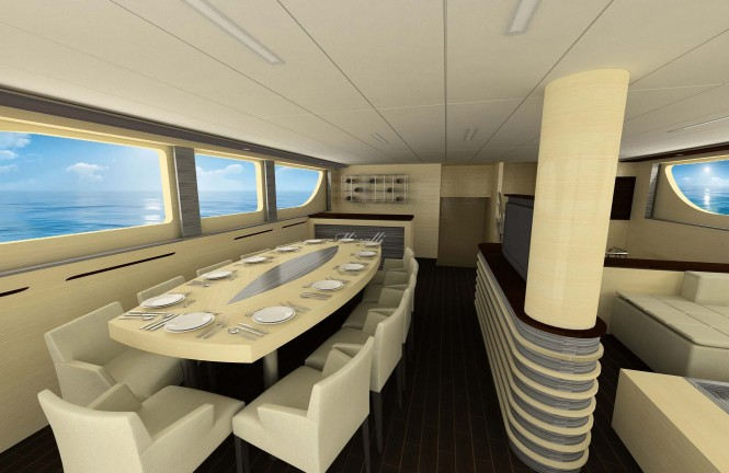 Superyacht Minallu - Interior