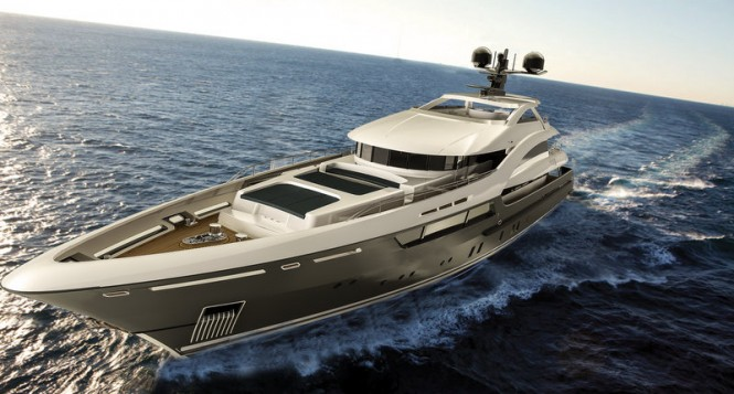 Superyacht Sarp 46 - front view