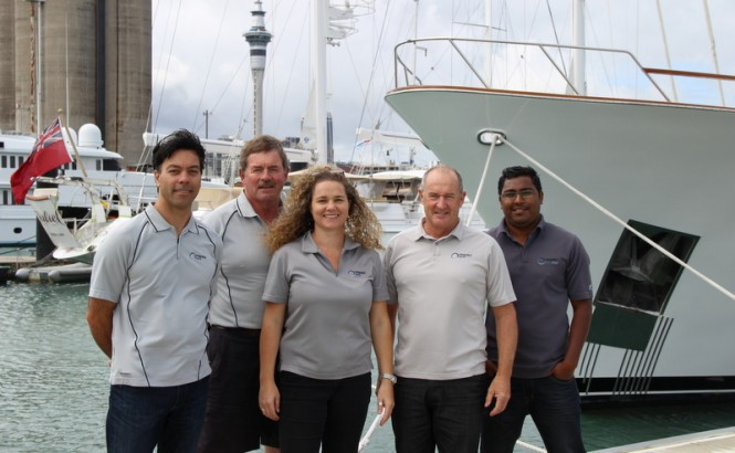 The IMG team (l to r Dave Low, Tony Whiting, Rachel Harrison, Mark Wightman and Munesh Sharma)