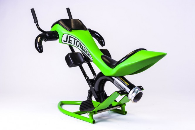 The Jetovator which taps the power of personal watercraft will be on show at Expo