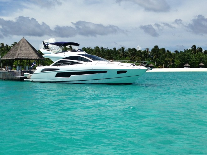 The fantastic Maldives yacht charter destination in the Indian Ocean
