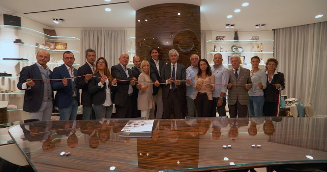The opening of the new Benetti office in Fort Lauderdale, Florida