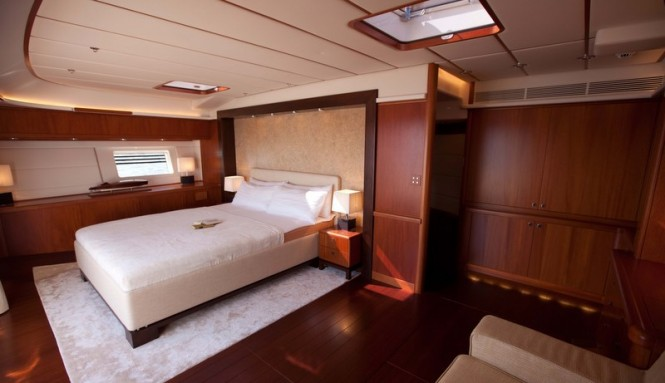 Ti-Coyo Yacht - Owners Stateroom - Photo by Dijana Nukic