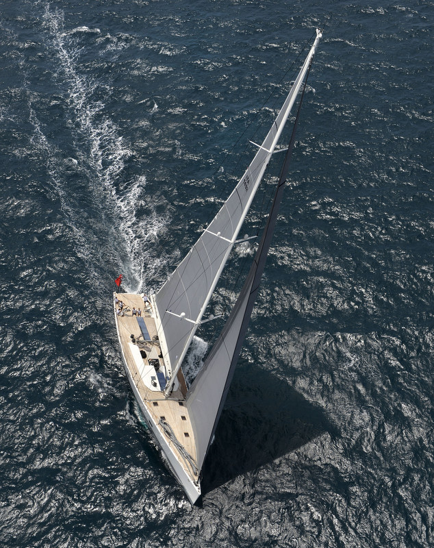 Wally 100 superyacht Indio - Photo Credit to Chris Miller and Doyle Sails NZ