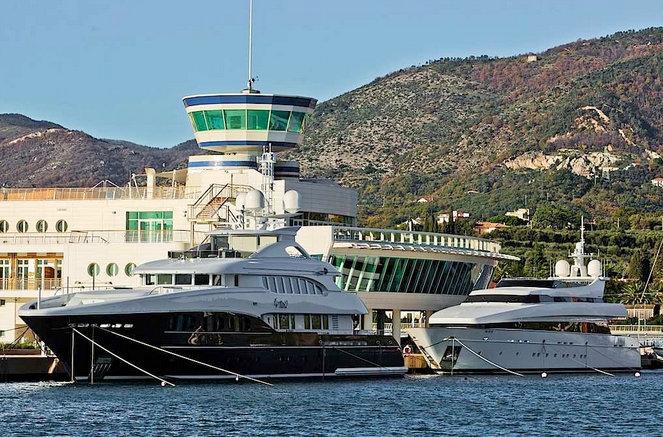 Yacht Club Marina di Loano in the popular Mediterranean yacht holiday location - Italy