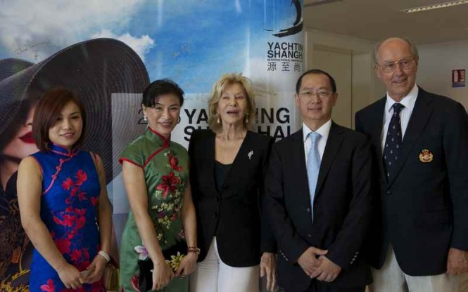 The kick-off press conference of the 2015 YACHTING SHANGHAI THE INTERNATIONAL MARINE EXPO