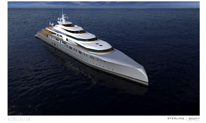 127m superyacht NICKELODEON project