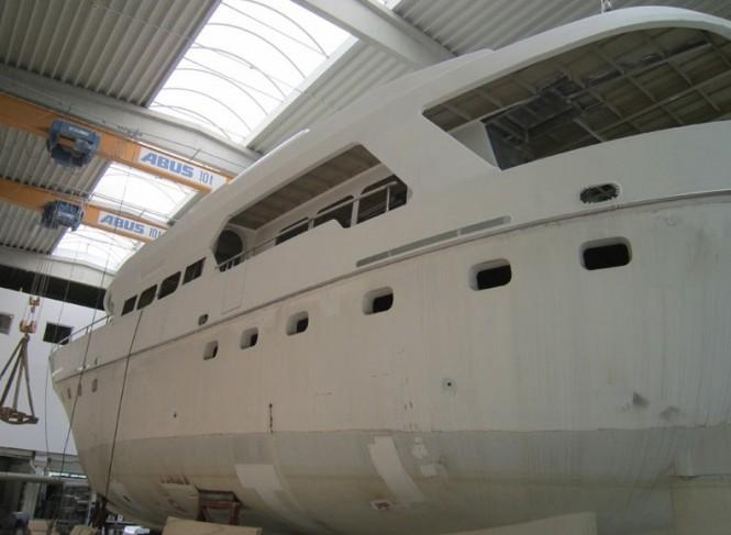 26m De Vries Lentsch new build yacht