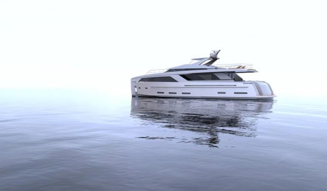 30m Nick Mezas superyacht concept