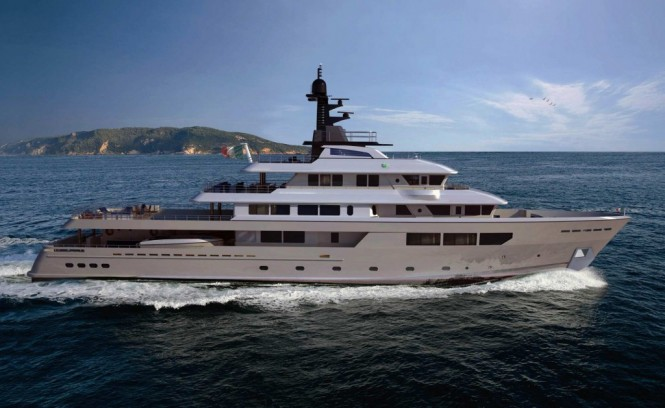57m Hydro Tec expedition yacht