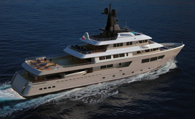 57m Hydro Tec motor yacht