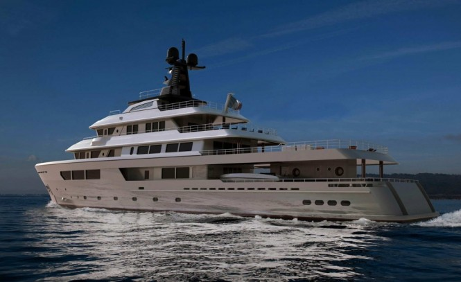 57m Hydro Tec superyacht