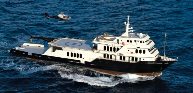 67m expedition yacht GLOBAL (ex Allure)