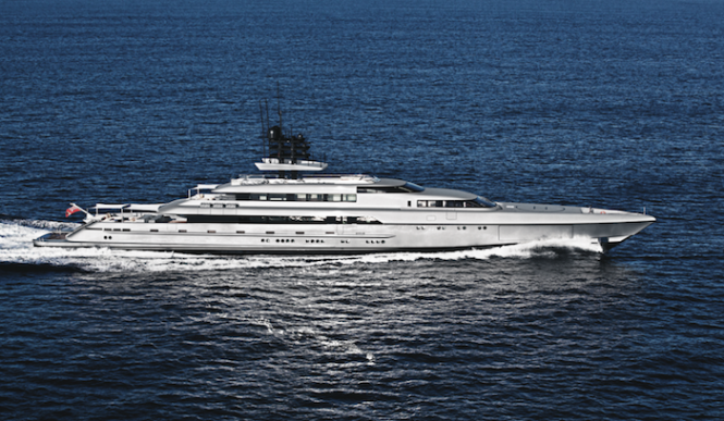 77m mega yacht SILVER FAST by SILVERYACHTS - Image credit to Klaus Jordan