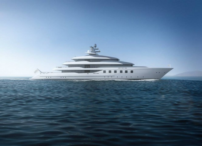 80m superyacht BV80 - side view