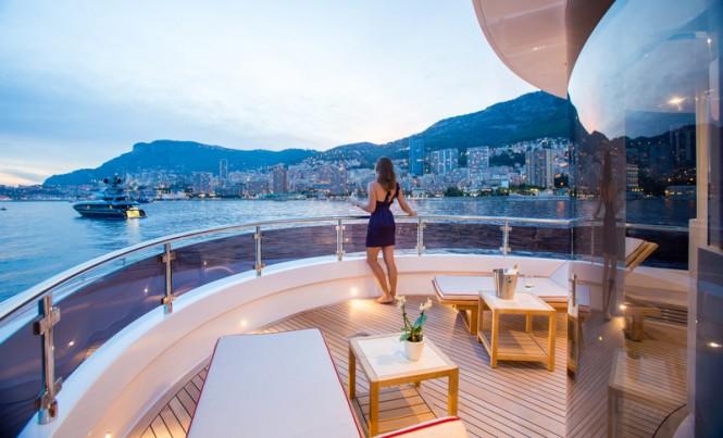 Aboard GATSBY Yacht
