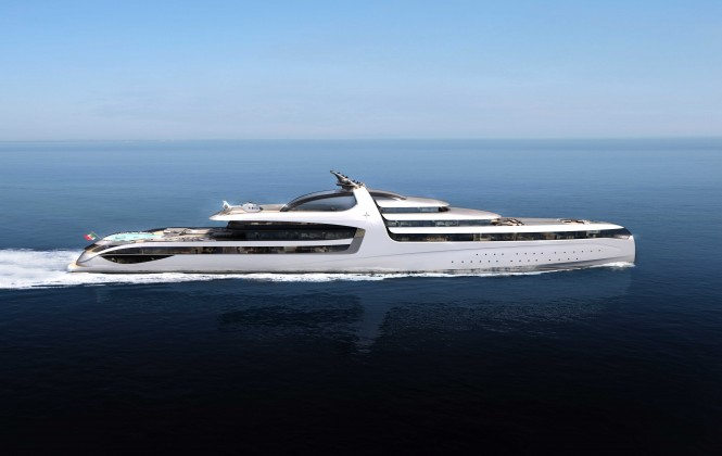 Admiral X-Force 145 Yacht Concept - Profile